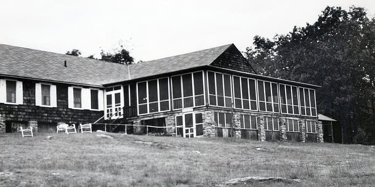 Old picture of The Lodge